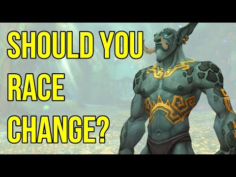 Zandalari Troll Transmog showcase and Racials discussion 2019 | WoW BFA