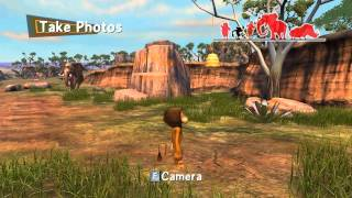 Madagascar 2 Escape Africa Walkthrough PC - Part 5 - The Watering Hole/Marty Race - HD