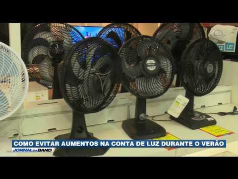 Gastos com energia elétrica sobem no verão