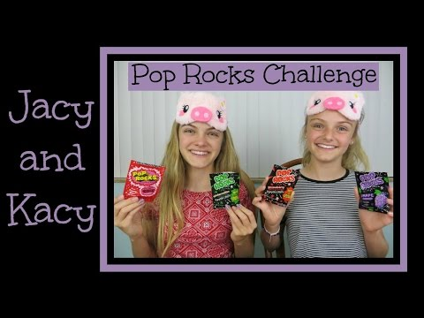 Pop Rocks Challenge ~ Jacy and Kacy