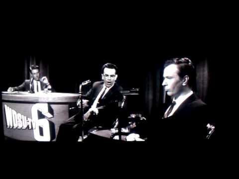 JFK scene: Oswald (Gary Oldman) on 1960's late night cable access propaganda