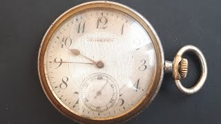 Антикварные карманные часы GEOMETRIC