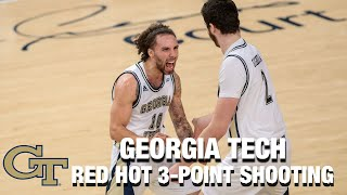 Georgia Tech's Red Hot 3-Point Shooting