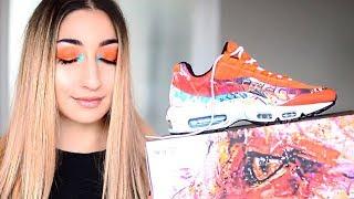 GESICHT WIE EIN TURNSCHUH | Sneaker inspired Make Up | Eda Vendetta