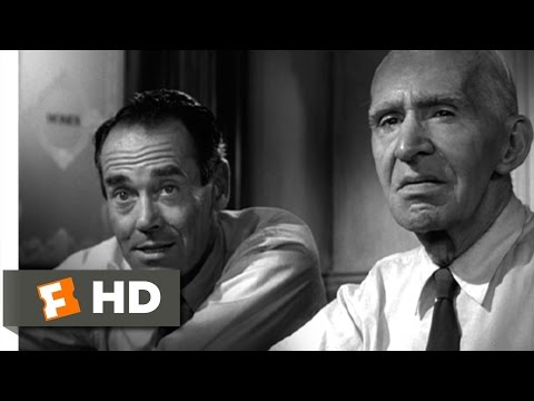 12 Angry Men (9/10) Movie CLIP - Nose Marks (1957) HD