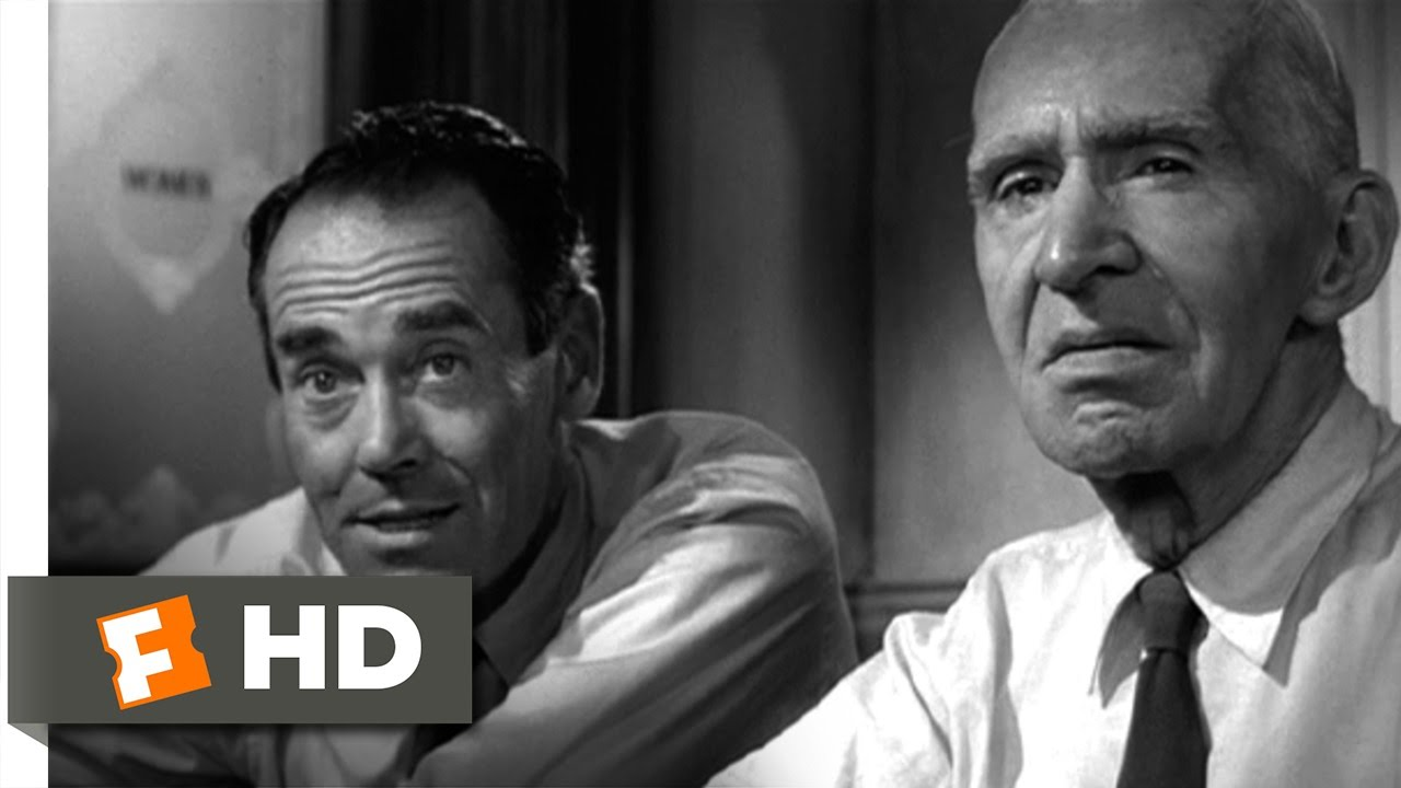 12 Angry Men 9 10 Movie CLIP