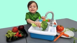 Yes Yes Vegetables and Fruits song - nursery rhymes kids songs