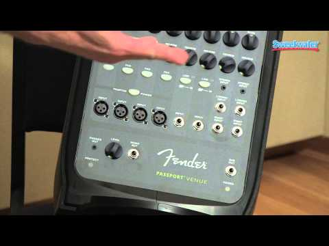 Fender Passport Venue Portable PA System Overview - Sweetwater Sound