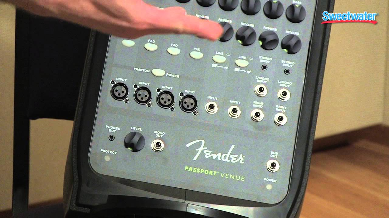 fender passport venue portable pa system overview sweetwater sound rh youtube com Fender Passport Models fender passport 150 pro owners manual