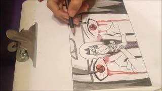 Itachi Uchiha - Speed drawing