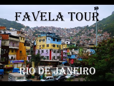 RIO DE JANEIRO FAVELA 'SLUMS' - The unfortunate living conditions of many