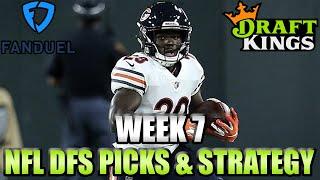 Week 7 NFL FanDuel & DraftKings Picks - Lineup Strategy