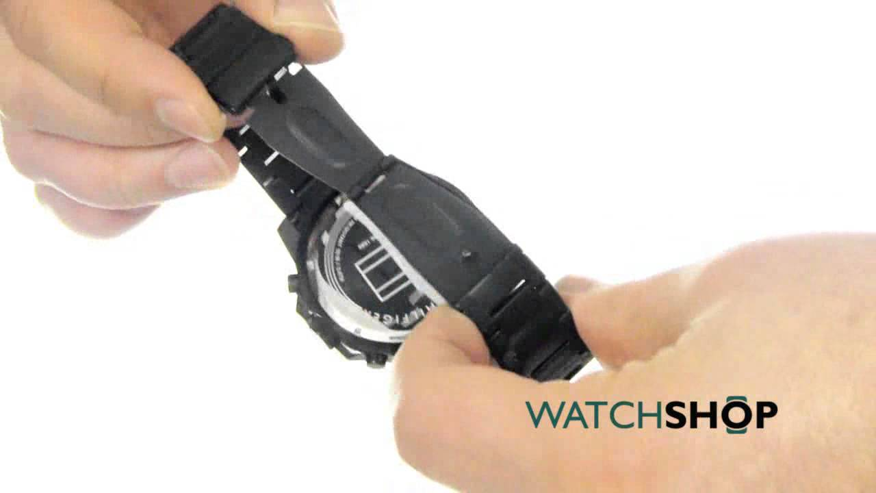 faa9028cb Tommy Hilfiger Men's Jace Chronograph Watch (1791167) - YouTube