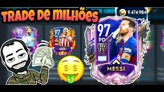 FIFA MOBILE 20- Trade com jogadores prata, Lucre milhões por hora.