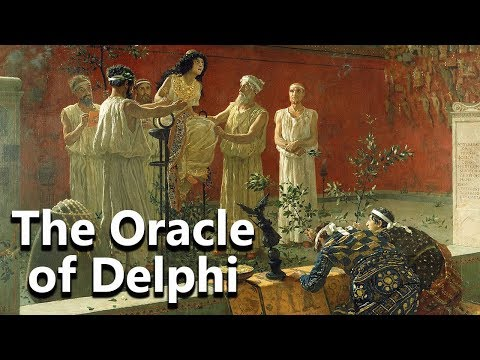 The Oracle of Delphi - The Temple of Apollo - Mythological Curiosities - See U in History