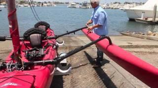 "Hobie Mirage Tandem Island Trailer ""How To"" HD"