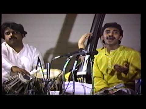 Ustad Rashid Khan As A Teenager- Live In USA : Raga Abhogi Kanada And Tarana In Raga Sohni