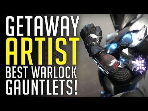 Destiny 2   GETAWAY ARTIST - EPIC WARLOCK EXOTIC GAUNTLETS! (Jokers Wild)