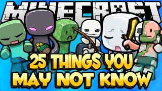 25 Things You May Not Know About Minecraft