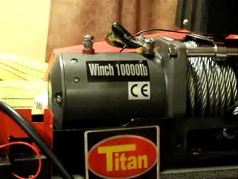 TIPS FOR WIRING INSTALLATION Harbor Freight Winch Wiring Diagram Hp Dc on