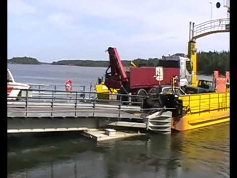 Skåldön lossi - Skåldö färja - Skåldö Cable Ferry
