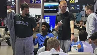 UCLA Team Returns From China Minus 3 Players Arrested For Shoplifting