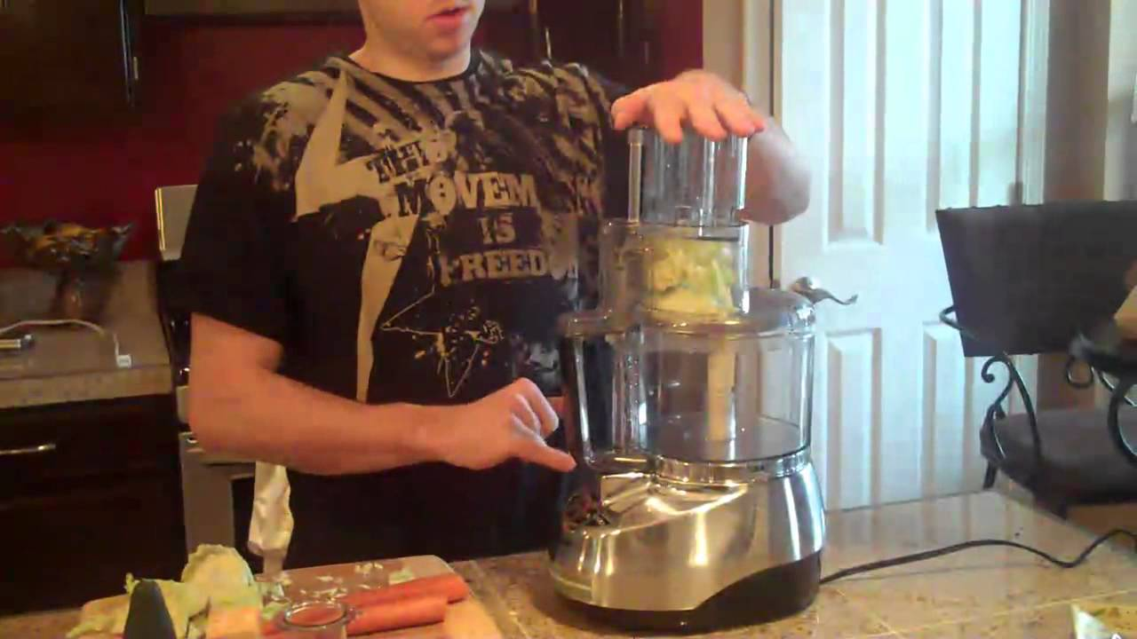 Cuisinart 11 Cup Food Processor Review   YouTube