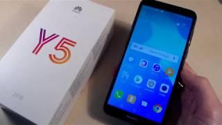 Обзор Huawei Y5 2018 (DRA-L21)
