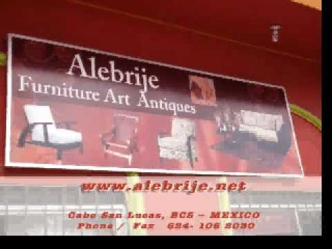 Alebrije Furniture Art & Antiques Cabo San Lucas - Los Cabos Furniture store LA BAJA MEXICO