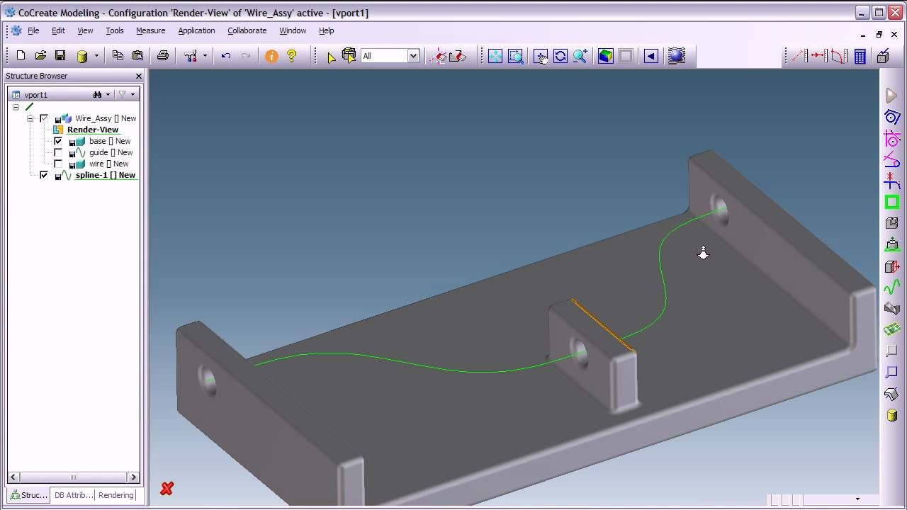 3d Cad Creo Elements Direct Modeling Spline Basics Youtube