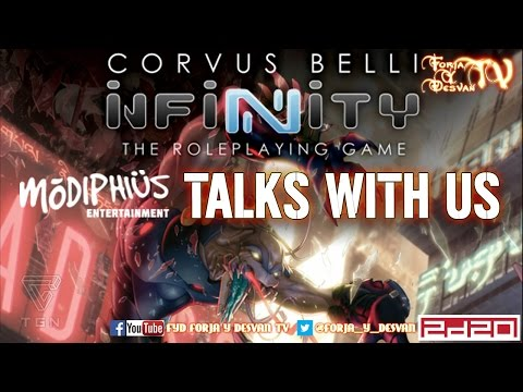 INFINITY THE ROLE PLAYING GAME TALKS WITH US MODIPHIUS