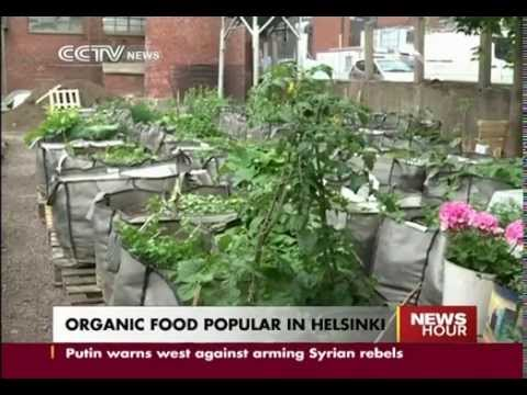 Organic food popular in Helsinki