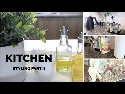 Kitchen Styling Part 2| DIY Gold Spray Painting| SOUTH AFRICAN YOUTUBER