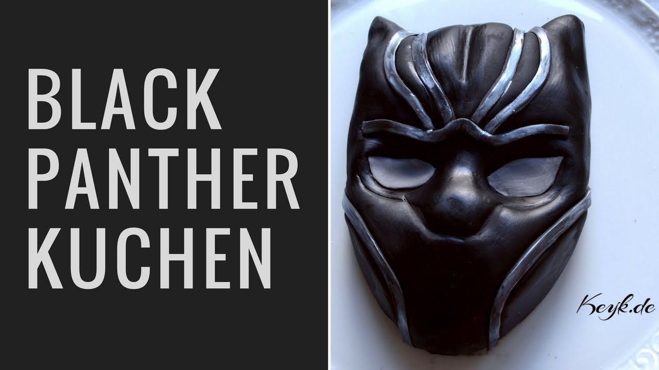 Black Panther Motivtorte Kuchen Youtube