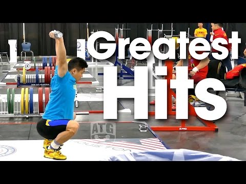 ATG Greatest Hits 2015 World Weightlifting Championships Training Hall (Empty Bar Slam Compilation)