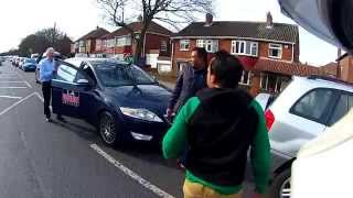Abusive and Racist Taxi Driver Road Rage
