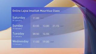 Online Lajna Imaillah Mauritius Class | Promo