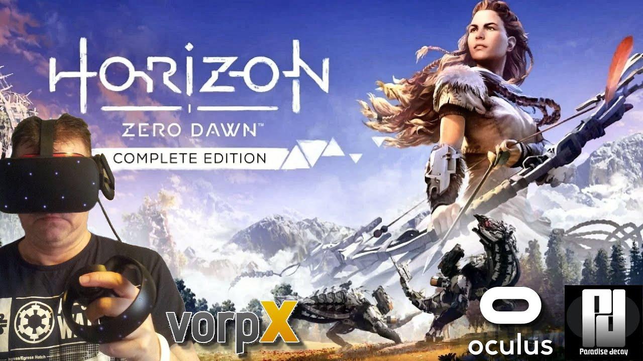 Horizon Zero Dawn in VR with VorpX + NEW UPDATE! // Oculus Rift S // RTX 2070 Super