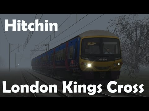 TS2015 | Hitchin - London Kings Cross | Class 365