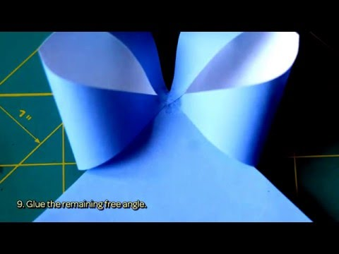 How To Make A Paper Gift Bow - DIY Crafts Tutorial - Guidecentral