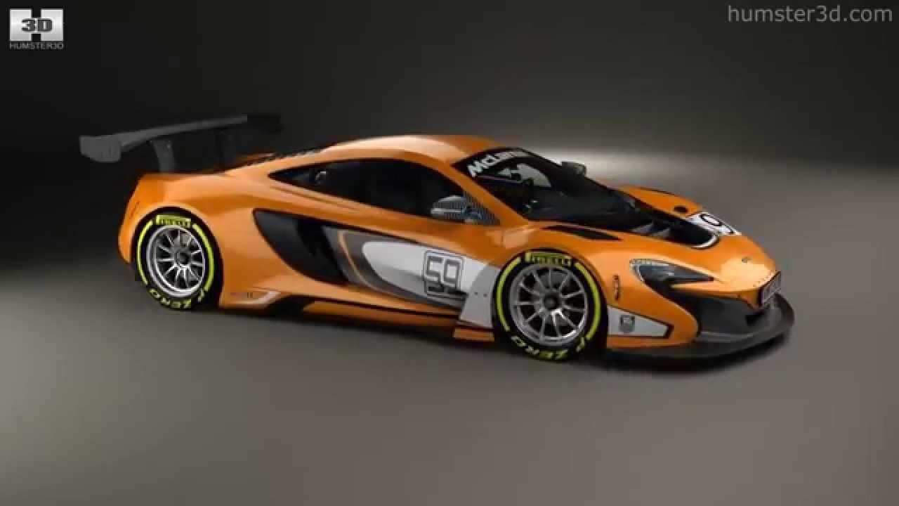 McLaren 650S GT3 2015 by 3D model store Humster3D.com - YouTube