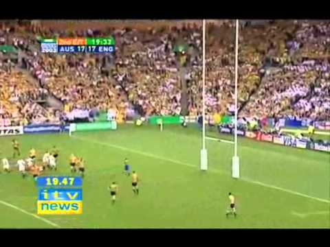 jonny wilkinson drop goal 2003 wc dvd