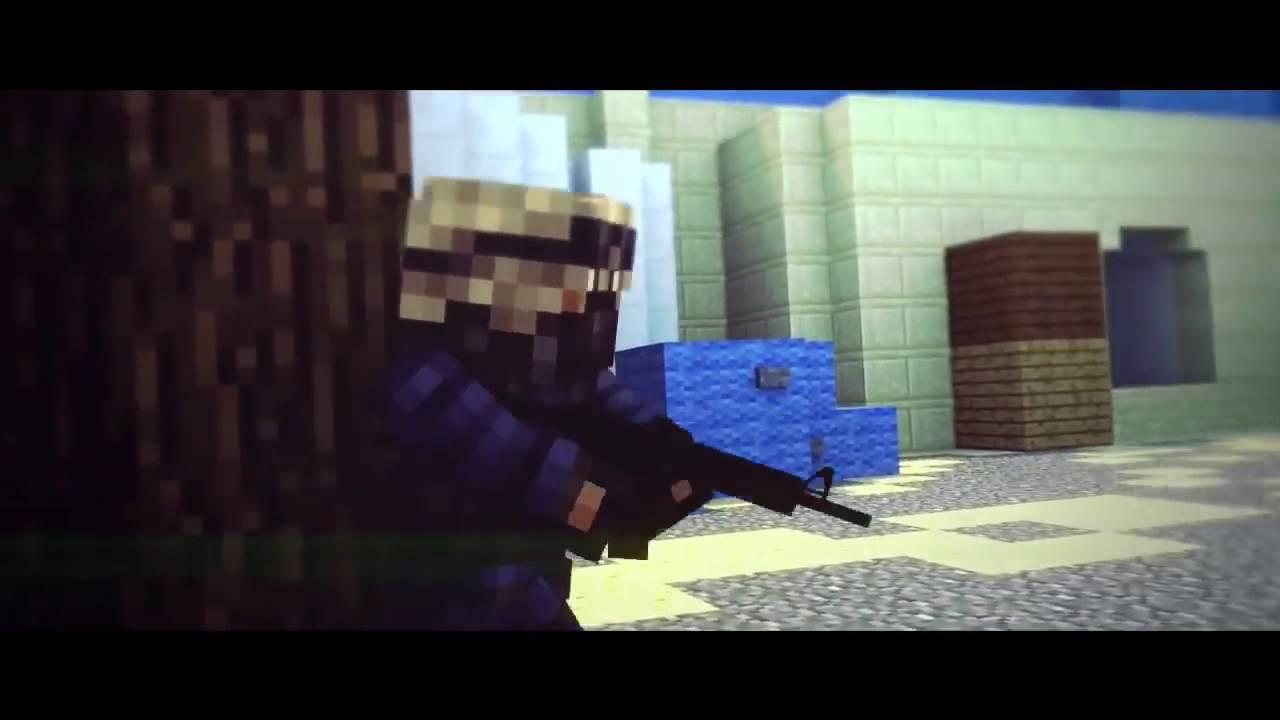 Free Minecraft Animation Cs Go Intro Template 3d Blender