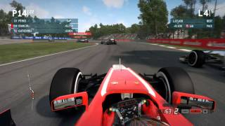 [WAD]HD™ - F1 2013 - Gameplay - #13 - Bianchi @ Monza