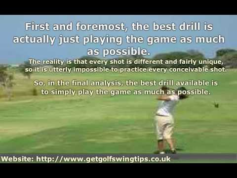 Using Effective Drills to Improve Golf Swing Performance