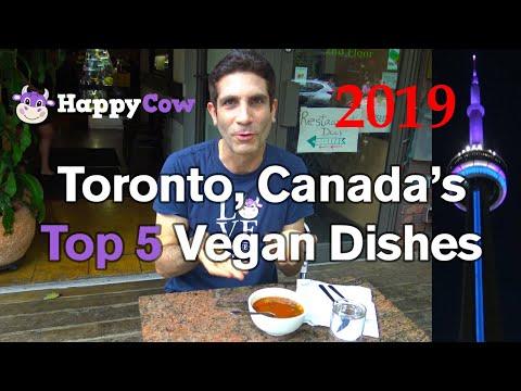 Toronto, Canada BEST Vegan Restaurants Meals 2019
