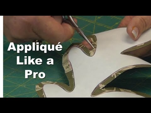 Appliqué Like a Pro!  Part 4/4 - Inner & Outer Curves