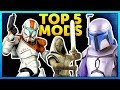 Top 5 Mods of the Week - Star Wars Battlefront 2 Mod Showcase #59 Clone Commando