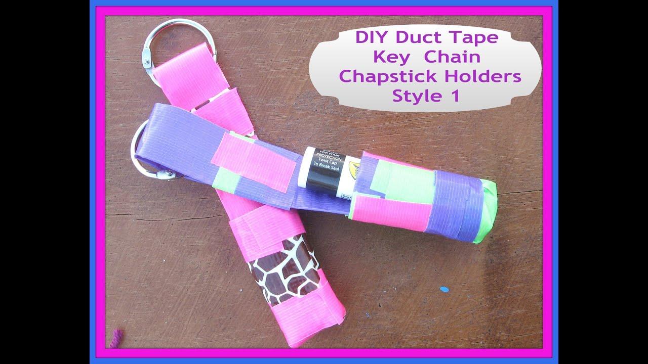 Chapstick Holder Keychain Template