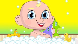 Baby Shark Toys Bath Song Nursery Rhymes Songs for Kids | Best Songs for Children